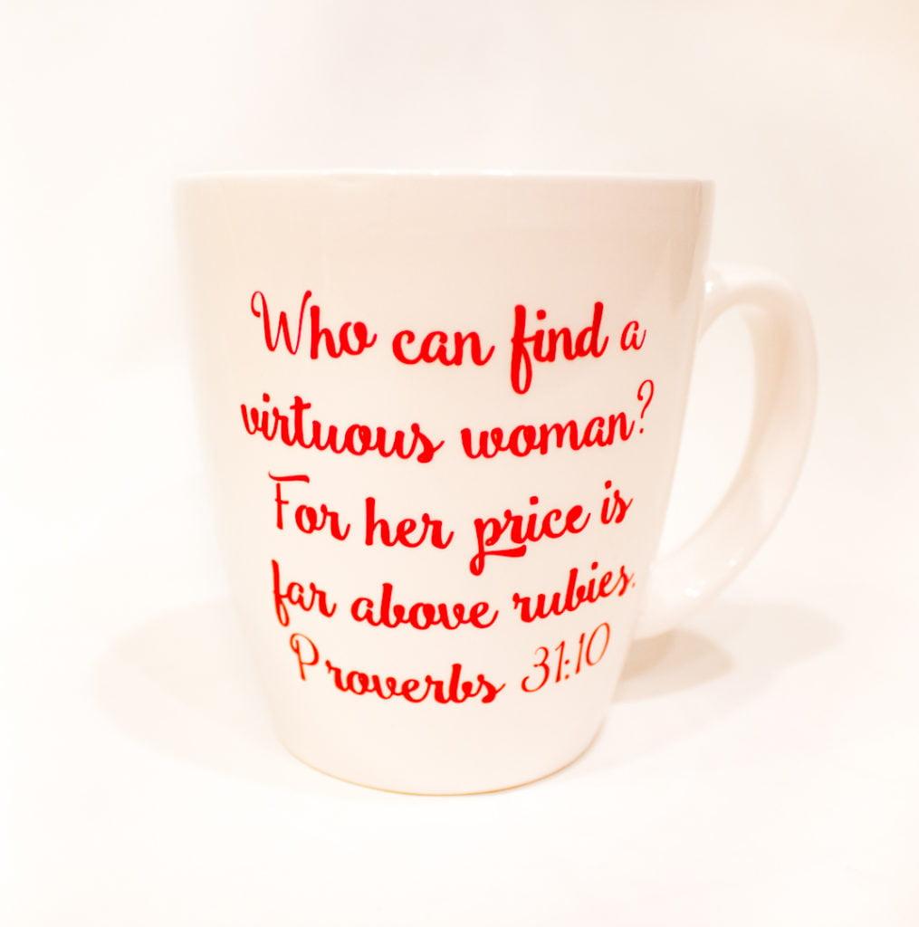 Porverbs 31:10 Mug